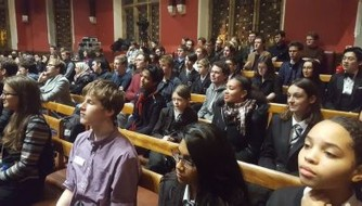 Y10 Gifted and Talented Oxford Union Debate Trip