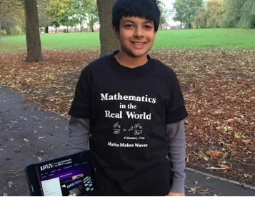 Siddhant Wins Maths Competition