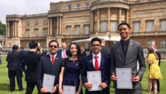 Whitmore's Gold Duke of Edinburgh Awards
