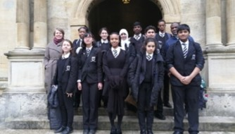 SCHOLARS PROGRAMME LAUNCH TRIP TO WADHAM COLLEGE, OXFORD UNIVERSITY