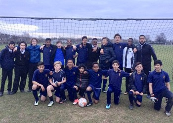 More Success, Year 8 Boys WIN cup