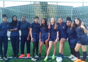 Year 9 Girls Football Team