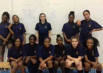 Year 7 Girls Basketball beat Buxton 32-8