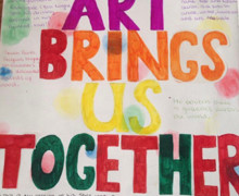 Marianna art brings us together year 10 willowfield school
