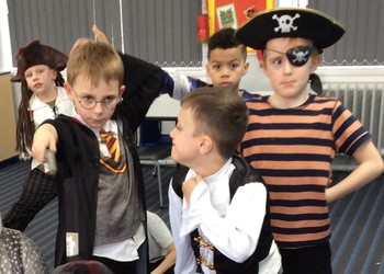 World Book Day wows at Woodstock