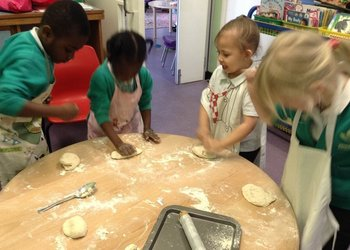 Cooking up a story in Foundation Stage