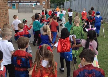 Super Heroes in Year 1