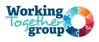 Working together group logo colour