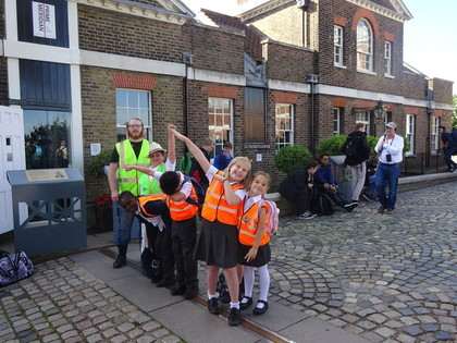 Year 4 Trip to Greenwich Sept 16