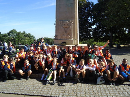Year 6 Trip to Greenwich Park Sept 16